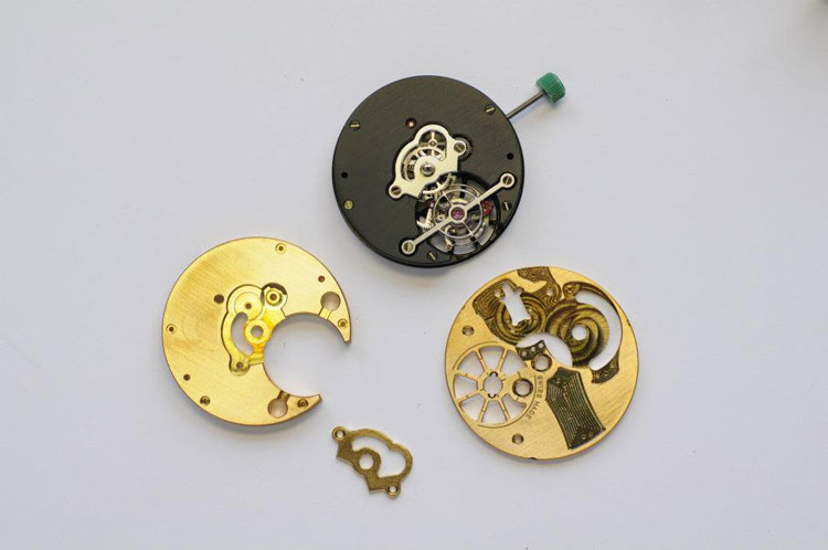 F117 - Tourbillon movement