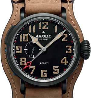 Часы Pilot Montre d'Aéronef Type 20 GMT 1903 от Zenith
