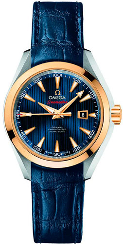 женские часы Omega Seamaster Aqua Terra Co-Axial London 2012