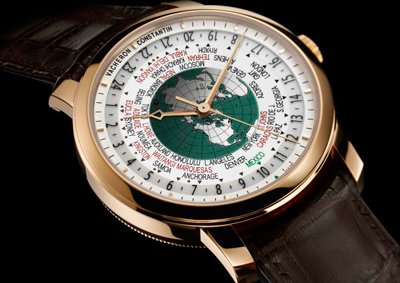 Часы Vacheron Constantin Patrimony Traditionnelle World Time for Mexico (Ref. 86060/000R-9965/00)