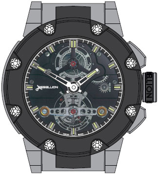 часы Predator Tourbillon