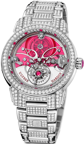 Часы Ulysse Nardin Royal Ruby Tourbillon (Ref. 799-88-8F)