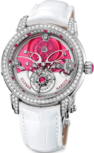 Часы Ulysse Nardin Royal Ruby Tourbillon (Ref. 799-88)