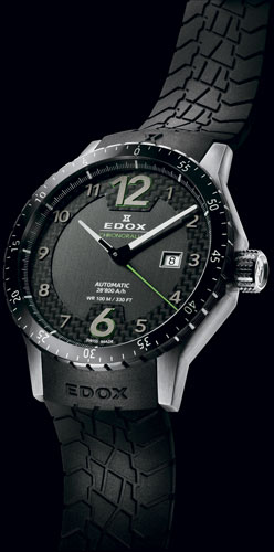 Часы Edox Chronorally Automatic