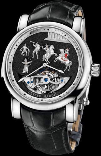 Alexander the Great Westminster Carillon Tourbillon (Ref. 780-90)