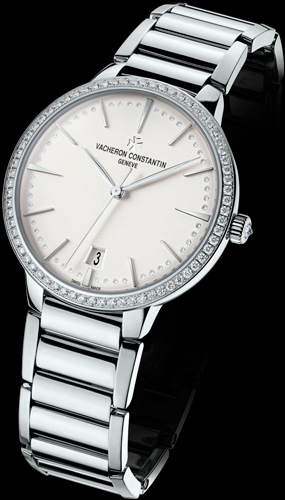 Женские часы Vacheron Constantin Patrimony Contemporaine Small White Gold (Ref. 85515/CA1G-9841)