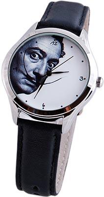 Молодежные часы украшенные портретом Сальвадора Дали
