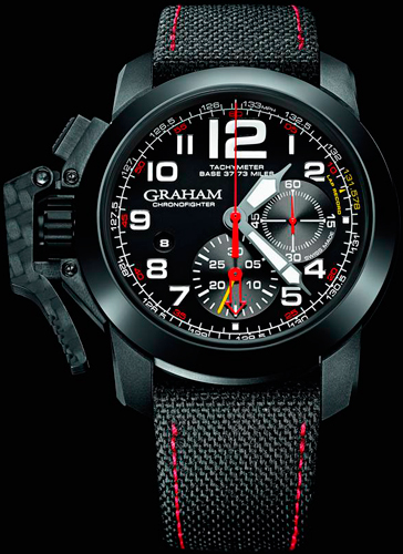 Часы Graham Chronofighter Oversize Superlight TT