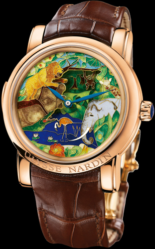 Safari Jaquemarts Minute Repeater (Ref. 726-61)
