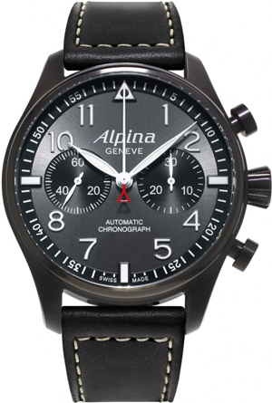Часы Alpina Startimer Pilot Automatic Chronograph «Black Star»