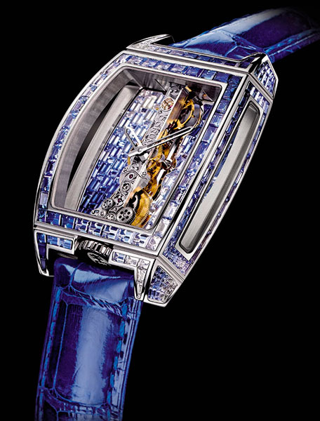 Часы Corum Golden Bridge
