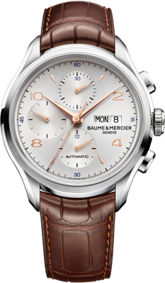 ���� Baume & Mercier Clifton Chronograph (Ref. 10129)