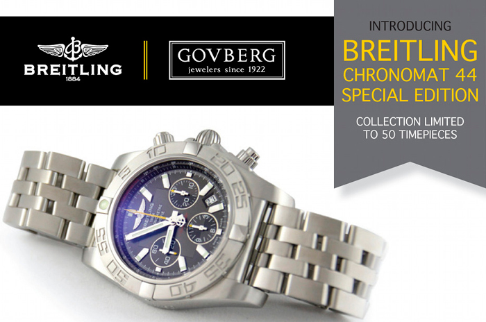 часы Chronomat 44 Special Edition от Breitling