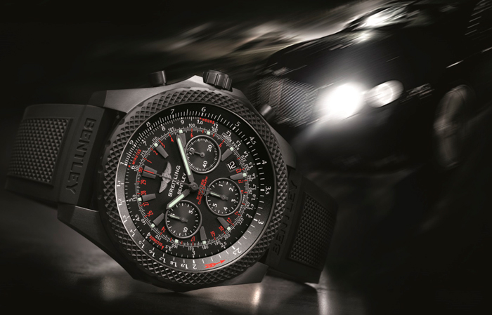 часы Breitling for Bentley Light Body Midnight Carbon
