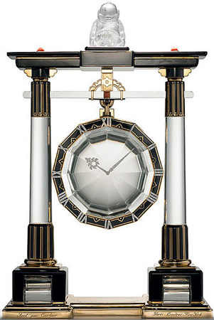 Каминные часы Large Portique Mystery Clock 1923 г.