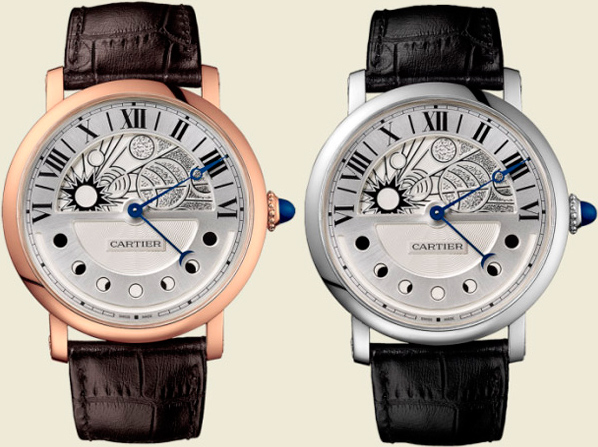 Часы Rotonde de Cartier Day and Night