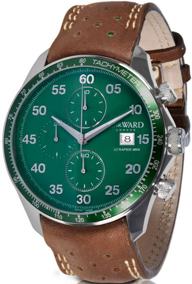 часы Christopher Ward C7 Rapide MK II British Racing Green LE