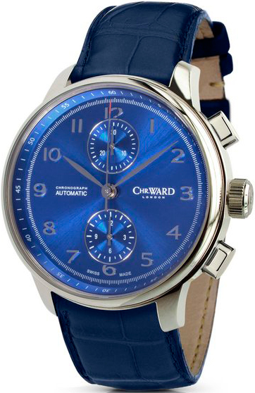 часы C9 Harrison Blue Automatic Chronograph