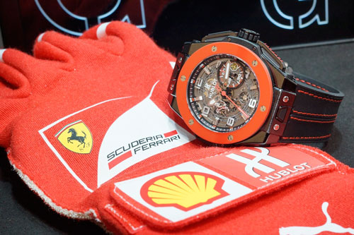 Часы Big Bang Ferrari Hong Kong Limited Edition