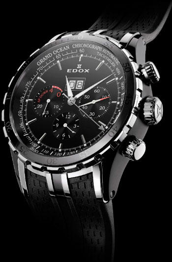часы Grand Ocean Extreme Sailing Series Special Edition от EDOX