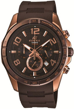 часы Casio Black X Rose EFR-516PG-1