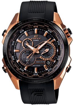 часы Casio Black X Rose EQS-500CG-1A