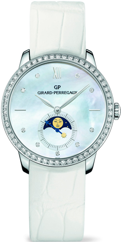 ���� Girard-Perregaux 1966 Lady Moon-Phases (Ref. 49524D53A752-CK7A)