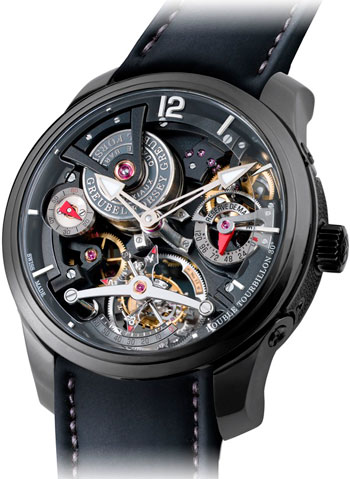 часы Double Tourbillon Technique Black от Greubel Forsey
