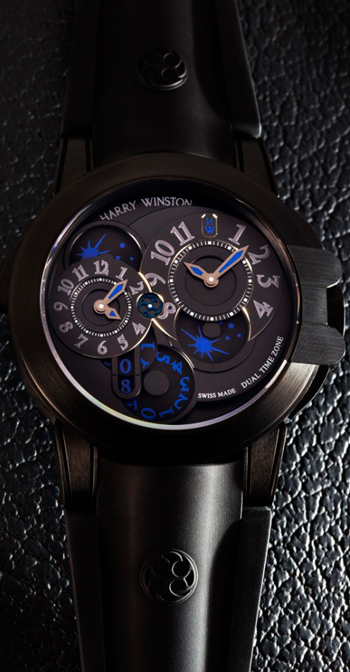 часы Ocean Dual Time Black (DLC)