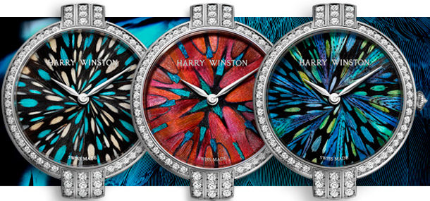 Часы Harry Winston Premier Feathers