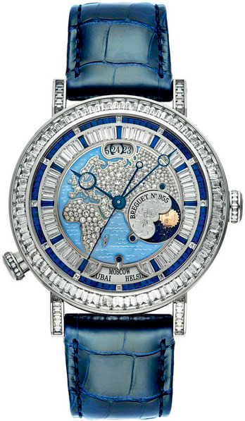 часы Breguet Hora Mundi High Jewellery