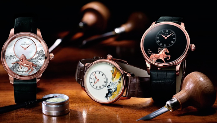 Год Лошади: Ateliers d'Art «Year of the Horse» от Jaquet Droz