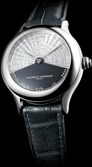 Часы Galet Secret Invisible Set With Baguette-Cut Diamonds от Laurent Ferrier
