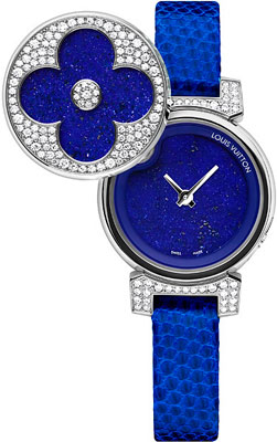 Часы Tambour Bijou Secret от Louis Vuitton