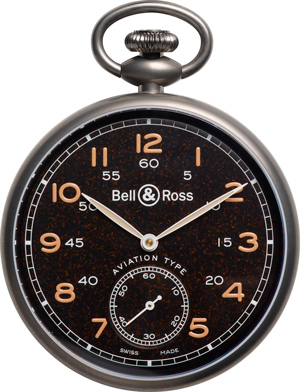 Карманные часы Bell & Ross PW1 Heritage Brown Dial