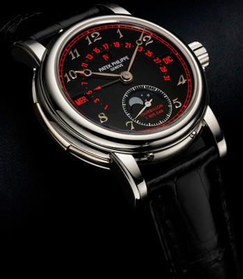 часы Patek Philippe Platinum Ref 5016 Black & Red