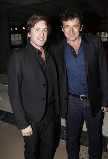 Thomas Dutronc and Patrick Bruel