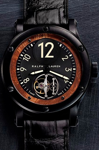 Часы Ralph Lauren Automotive Flying Tourbillon (Ref. RLR0220707)