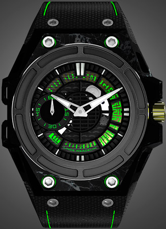 ���� SpidoLite II Tech Green �� Linde Werdelin