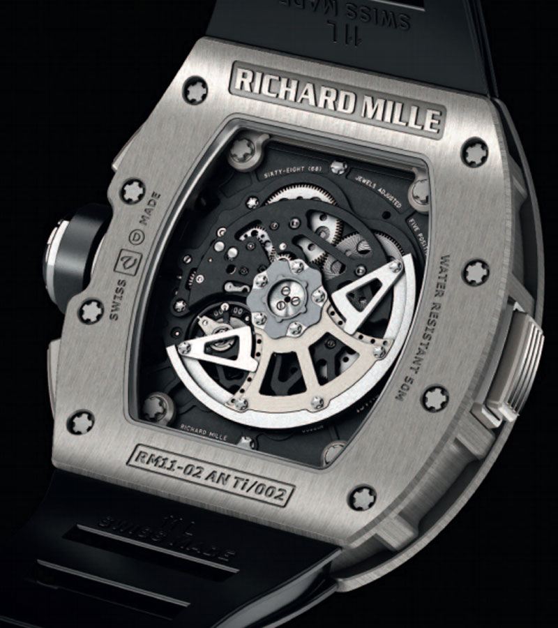 ���� RM 11-02 Automatic Flyback Chronograph Dual Time Zone �� Richard Mille