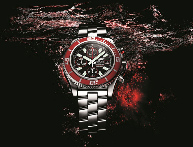 часы Superocean Chronograph II