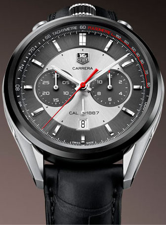 часы Carrera Calibre 1887 Chronograph Jack Heuer Edition от TAG Heuer