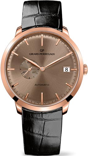 часы Girard-Perregaux 1966 Small Seconds and Date (Ref. 49543-52-B31-BK6A)