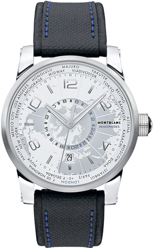 Часы Montblanc TimeWalker World-Time Hemispheres Northern