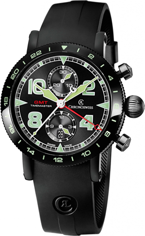 часы Timemaster Chronograph GMT от Chronoswiss