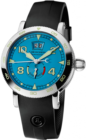 Часы Timemaster Big Date Skyblue от Chronoswiss