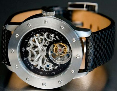 часы с турбийоном - Tailored Tourbillon Skeleton