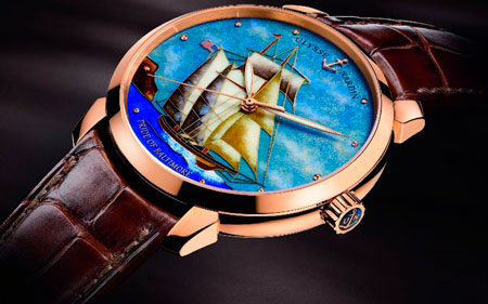 Часы Pride of Baltimore Limited Edition (Ref. 8156-111-2/BALT) от Ulysse Nardin