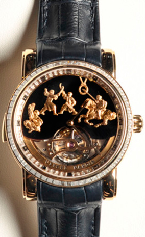 Часы Genghis Kahn Westminster Carillon Tourbillon Jaquemarts Minute Repeater от Ulysse Nardin