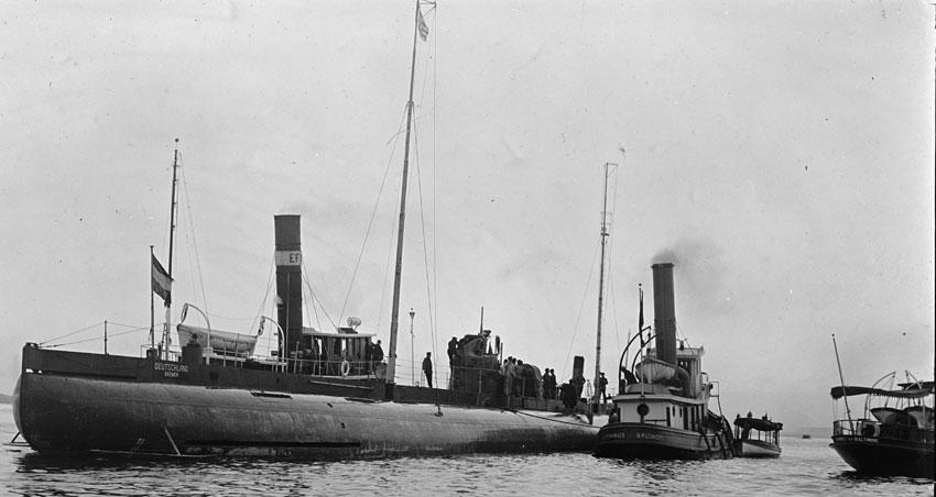 Дальние переходы немецкие подводные